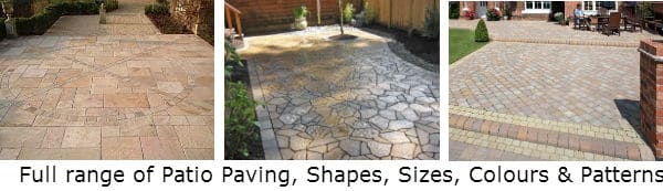 patio paving Johannesburg